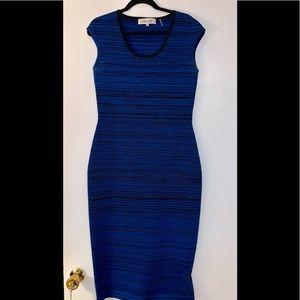 Diane VonFurstenberg Scuba Midi Dress, Size Medium